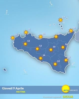 meteo sicilia
