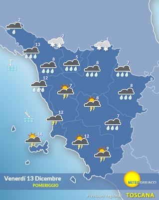 meteo toscana