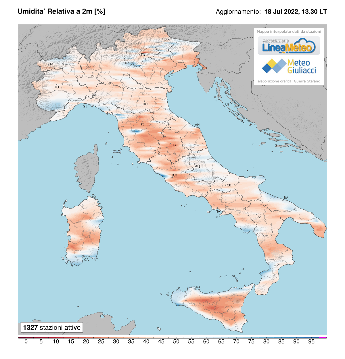 Meteo Cartina Italia.Ia875drxo54ugm