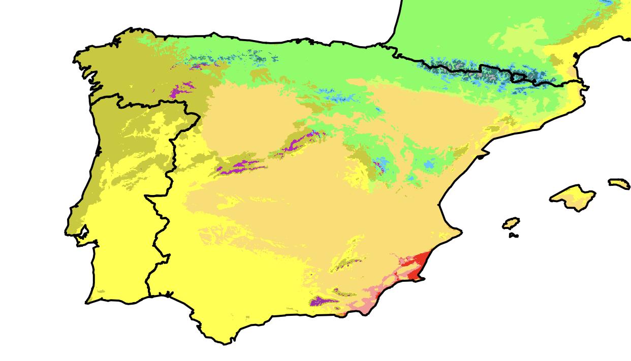 Cartina Meteo Spagna.Il Clima Della Spagna E Del Portogallo Meteogiuliacci It