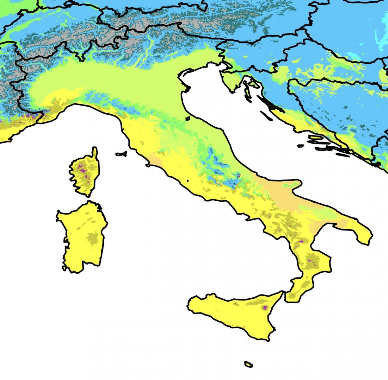 Cartina Clima Mondo.Il Clima Dell Italia Meteogiuliacci It