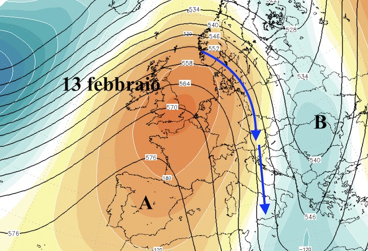Meteo. Nuova ondata di freddo si abbatterà al Sud