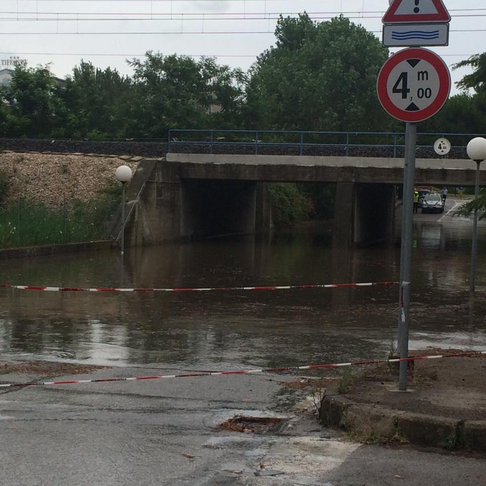 Nubifragi venerd in romagna a cattolica ben 160 mm di pioggia meteo giuliacci it - Meteo it bagno di romagna ...