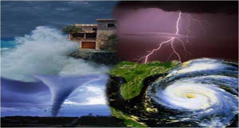 Catastrofi naturali nel 2015 nel mondo in forte aumento