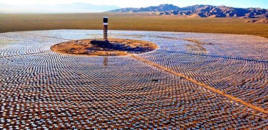 Impianto CSP nel Sahara in Marocco