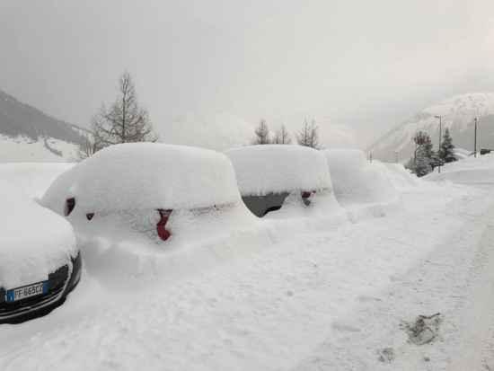 Neve Alpi Lombarde.