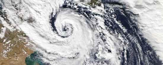 Ciclone Mediterraneo a Sud della Sicilia, il 7 Novembre 2014