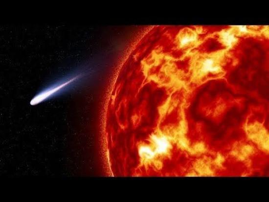 La cometa 96P/Machholz vista dal telescopio spaziale SOHO a fine ottobre
