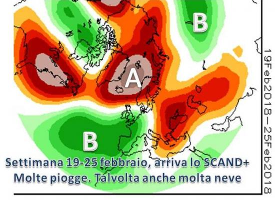 Anticlone Scandinavo nella prossima settimana
