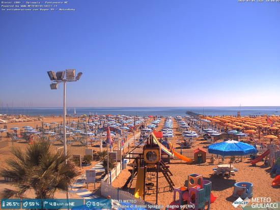 Webcam Meteogiuliacci Bagnoloretta 99 Rimini