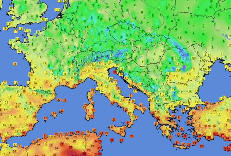 Aria frizzante sull'Europa centro orientale: l'eredità della colata fredda