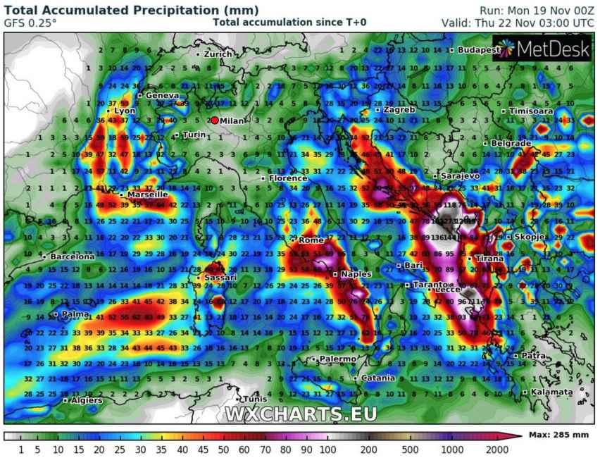Ultimissime Meteo Allerta Su Sette Regioni Per Il Maltempo La Protezione Civile Lancia L Allarme Meteogiuliacci It