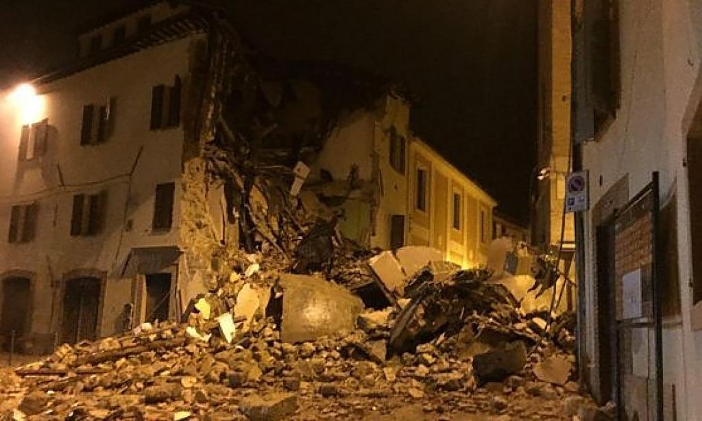 Terremoto Ussita, il sindaco Giuliano Rinaldi: