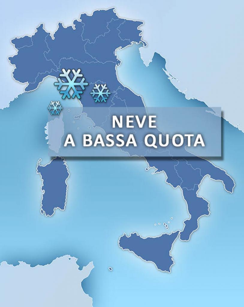 Meteo, freddo in arrivo prima di Capodanno: Italia al gelo