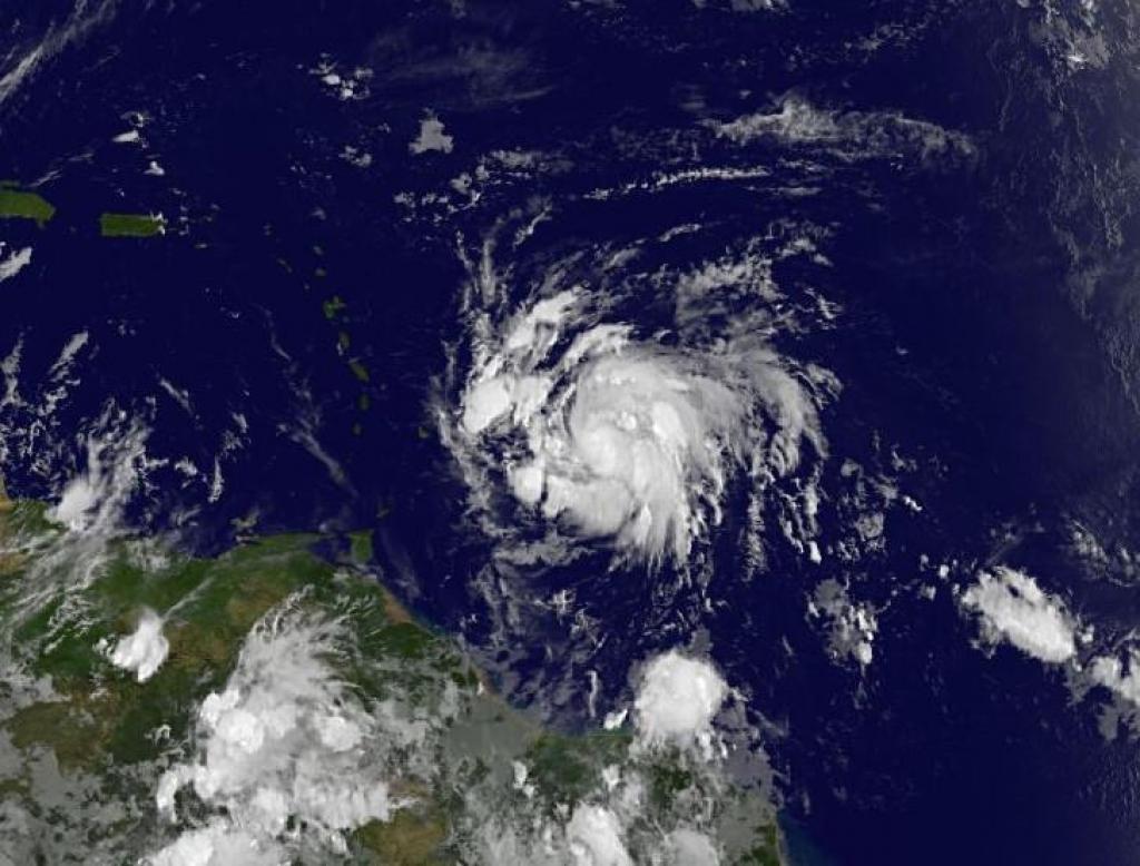 Un nuovo uragano potrebbe colpire i Caraibi, è la tempesta tropicale Maria