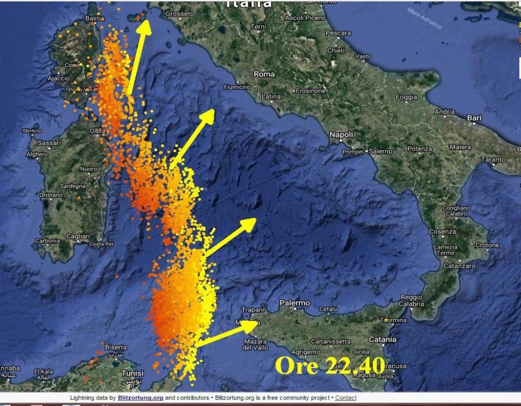 Meteo, allerta per il forte vento: in arrivo mareggiate e maltempo -Previsioni
