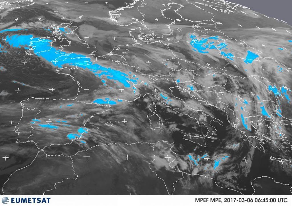 Meteo settimana: pioggia, neve e vento al Sud miglioramento al Centro