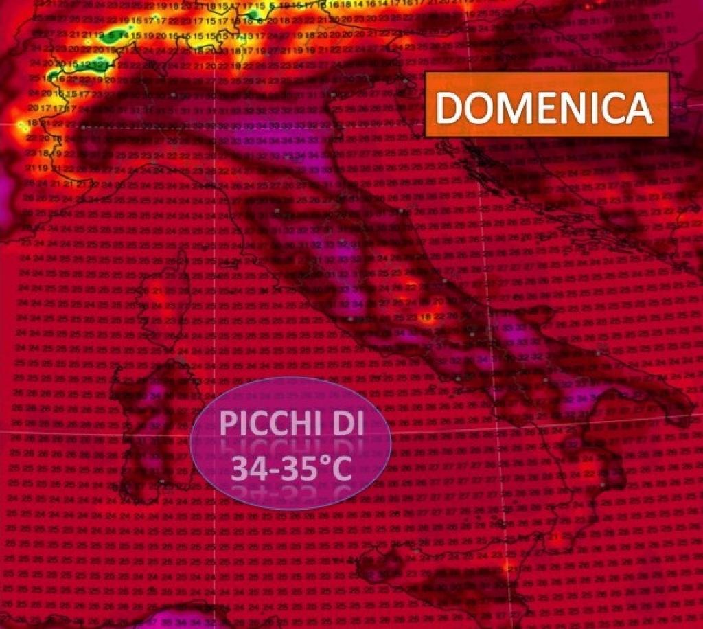 Previsioni meteo e caldo di fine luglio: quando la fiammata?