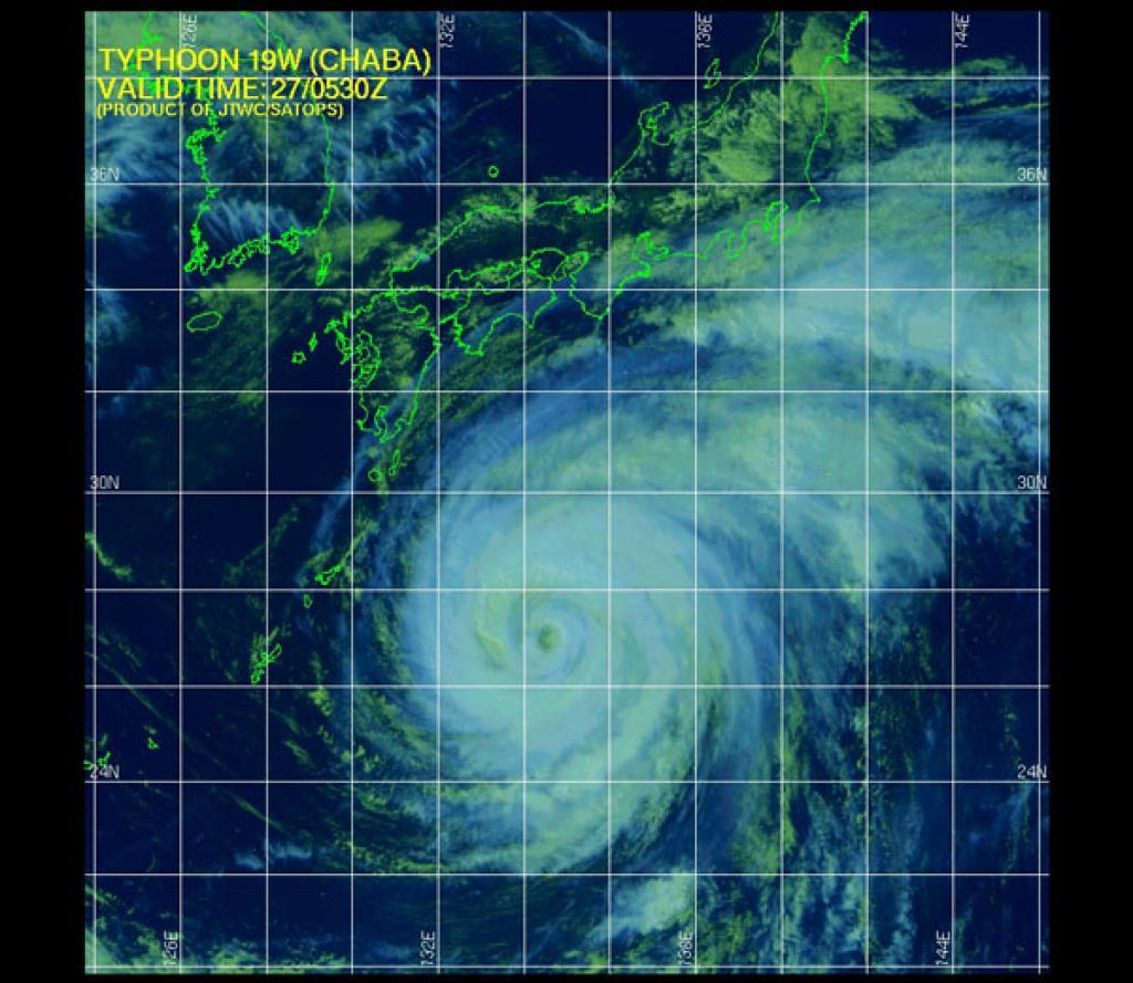 Almeno cinque morti in Corea del Sud a causa del tifone Chaba