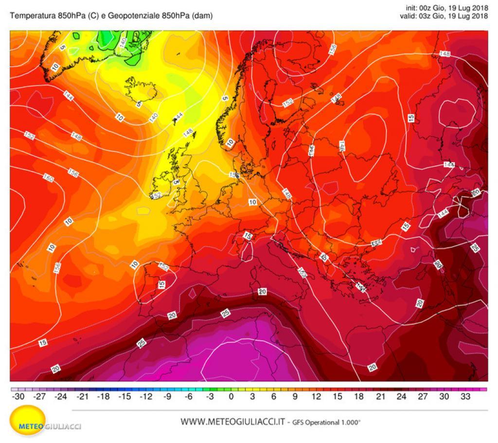 Allerta meteo, piogge in arrivo sul nord Italia
