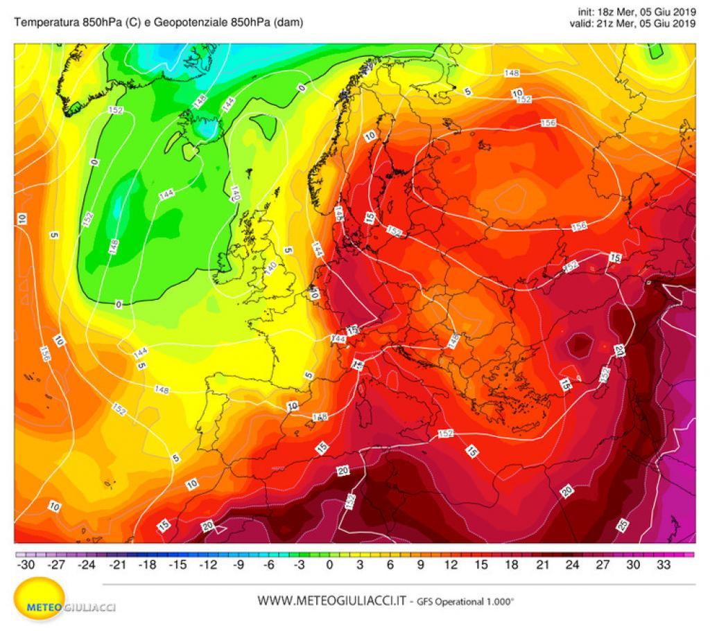Meteo: ancora caldo a Sud, da domani temporali a Nord
