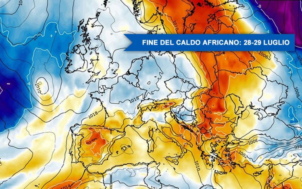 Torna il caldo africano, in arrivo una settimana con notti