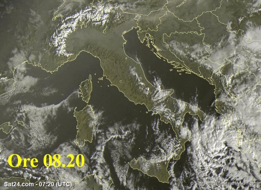 Previsioni Meteo Roma lunedì 5 dicembre 2016