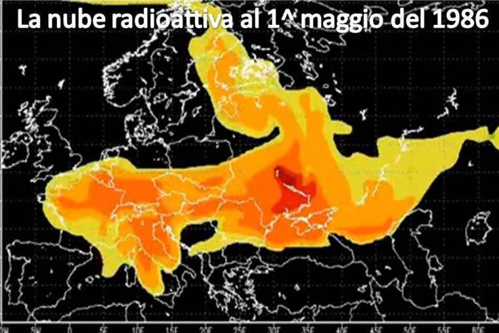 Risultati immagini per la nube radioattiva di chernobyl Chernobyl nel 1986
