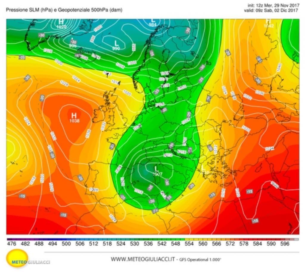 Nuovo calo delle temperature: al Nord neve anche in pianura