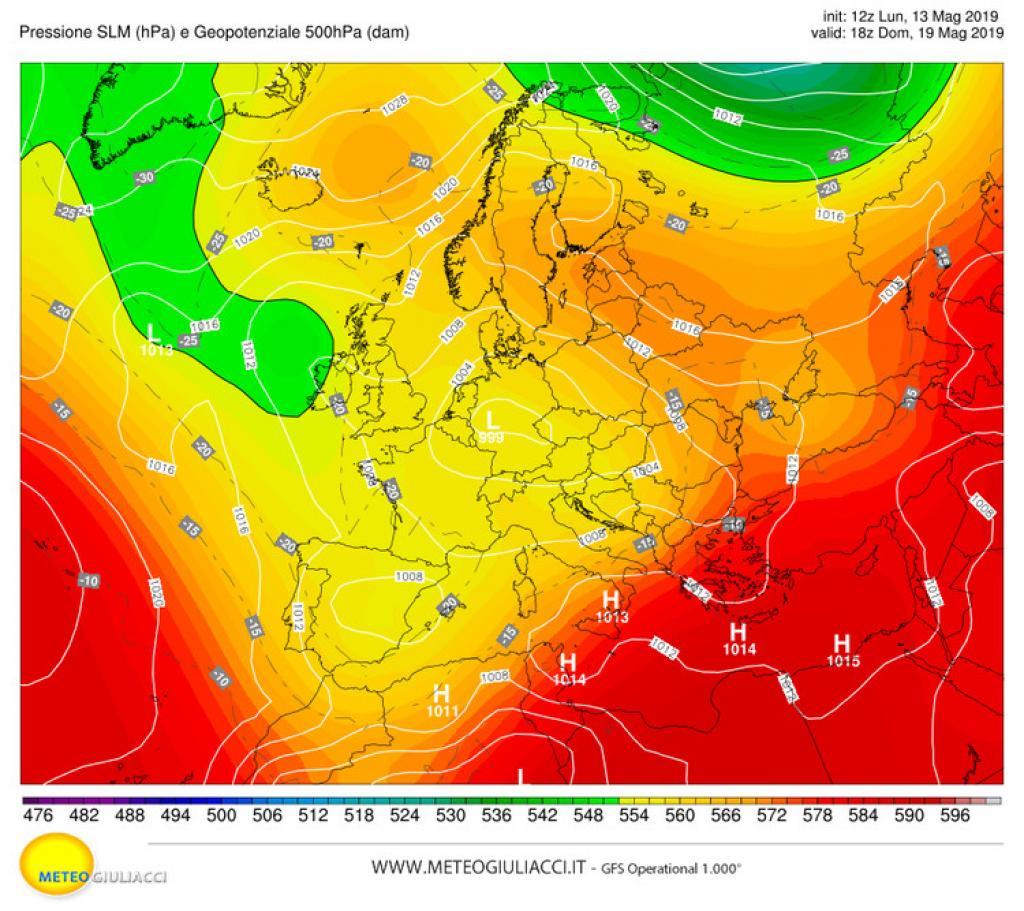 Meteo: un'ondata di caldo africano porterà temperature di 40 gradi al Sud