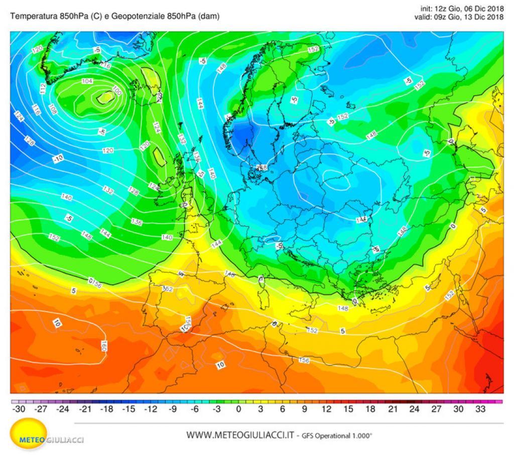 Maltempo: venti forti fino a burrasca dal nord al centro-sud