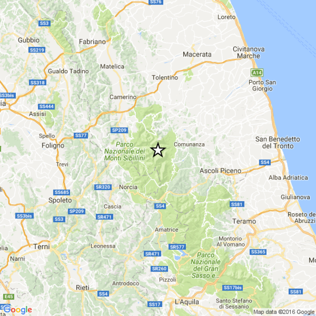 Due scosse di terremoto fra Imperia e Savona