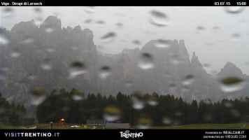 Pioggia in Trentino
