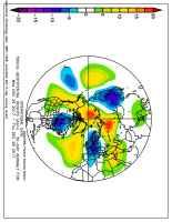 Fig.1 - Anomalie di pressione alla quota di 5500m