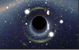 Fig.1 -Fig.1 - Come potrebbe sere un buco nero.