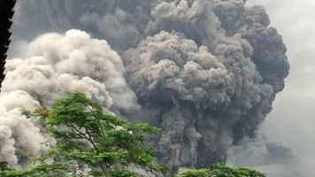 Vulcano Fuego in Guatemala