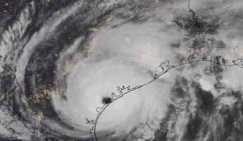 L'uragano Harvey sul Texas