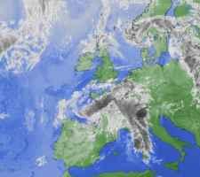 Satellite al mattino di lunedì 11 giugno