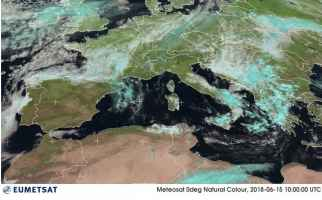 Satellite meteo ore 12.00