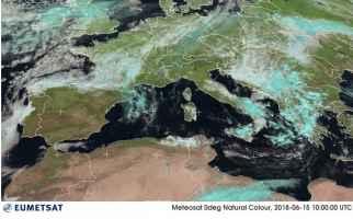 Satellite meteo ore 12.00