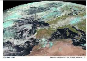 Satellite ore 11.00 di venerdì 14 settembre