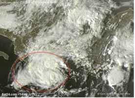 Il ciclone Zorbas sulla Grecia