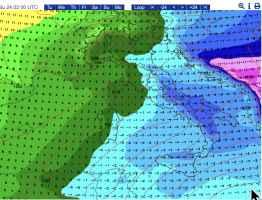 Temperature.a1500m il 23 febbraio