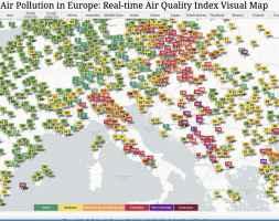 Le aree europee ora più inquinate