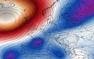 Anomalie a 500hpa per il 30 marzo