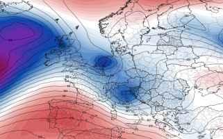 Depressione mediterranea tra il 28-30 aprile 2020