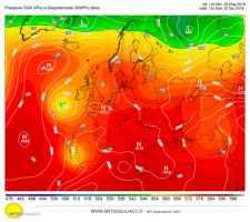Alta pressione ben distesa sul Mediterraneo per il 2 giugno