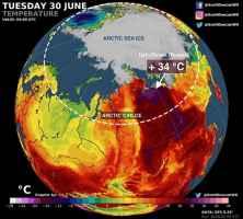 Caldo estremo Siberia