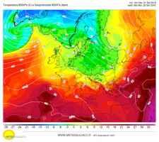 Dalla prossima settimana l'Europa piomba in autunno