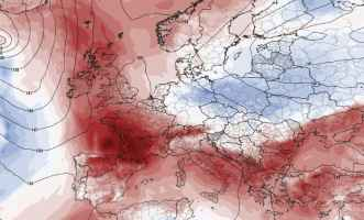 Anticiclone africano in arrivo, caldo protagonista, temperature oltre le medie